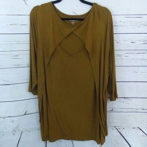 Plus size cut out tunic top size 22/24